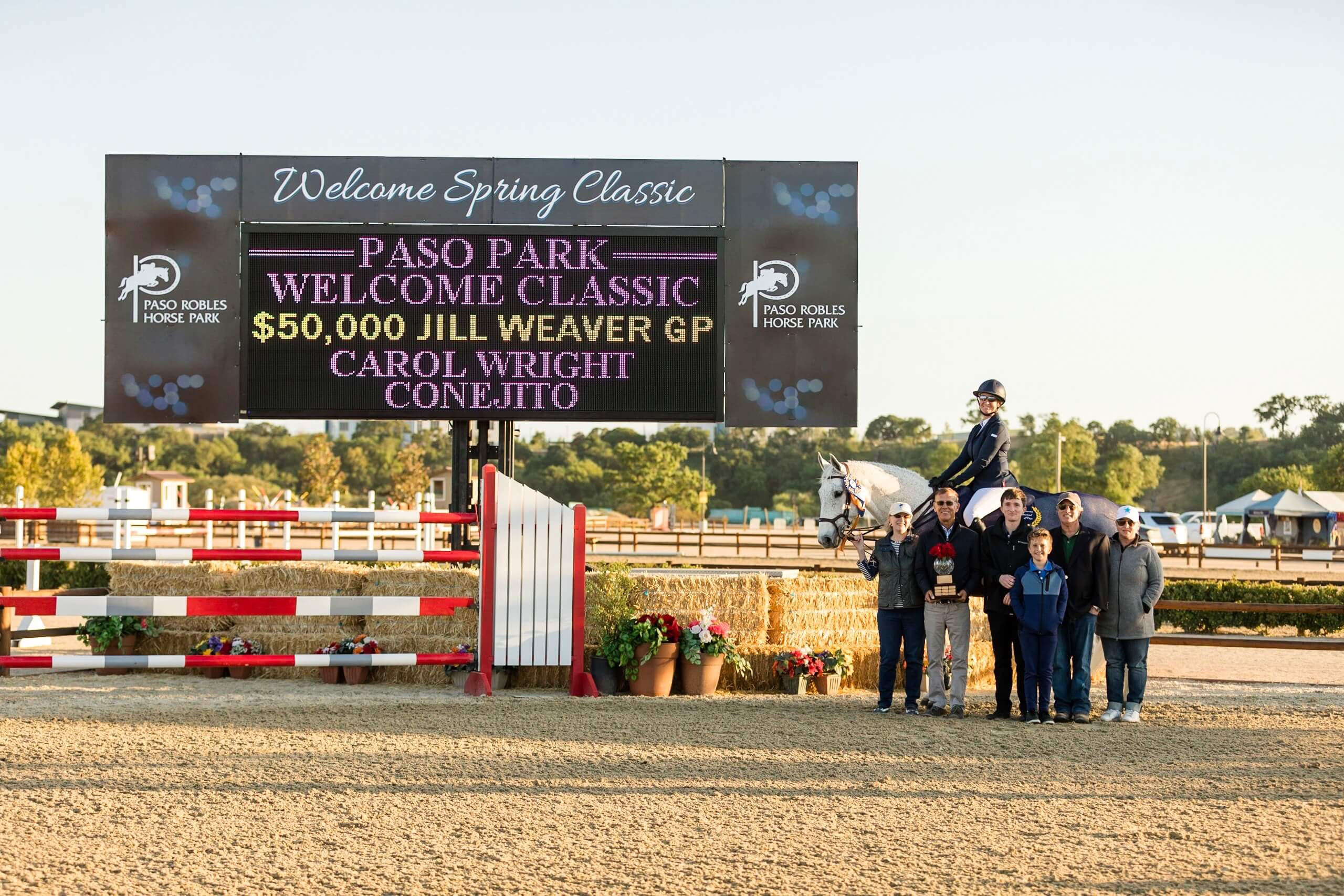 Paso Robles Horse Park Management Holds First USEF A-Rated Show